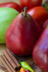 IMG_1831 (JRCmoreno) Tags: redanjoupears ajou pears fruits vegetables cocine restaurant foodie food foodphotography