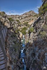 Caminito del Rey (Jose Peral Merino) Tags: caminitodelrey malaga ardales elchorro desfiladerodelosgaitanes desfiladero paso acantilados riscos pasarelas rio