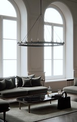Parisian Interior (kozastudio) Tags: model 3d new bottle whisky bag sofa fly design interior parisian render corona 3dsmax