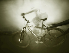 Cyclic Motion (wheehamx) Tags: motion pinhole cycle movement 4x5 xray