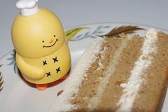 ITS READY ! (kingkong21) Tags: chai latte cake pinb