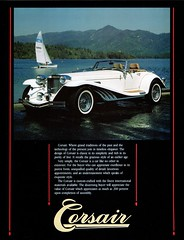 1986 Corsair (aldenjewell) Tags: 1986 corsair roaring twenties motor car co el cajon ca california brochure