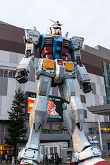 Gundam giant statue in Odaiba, Tokyo (basair) Tags: red odaiba gundam tokyoprefecture japaneseculture japan builtstructure day asia frontview famousplace backgrounds statue mangastyle architecture technology futuristic sculpture robot animatedcartoon tokyobay largebuild toy war space traveldestinations fame anniversary devil passion fantasy lifestyles artificialmodel lifesize animationmovingimage eastasianculture arranging figurine scale suit computergraphic costume art characters cartoon mtbandai giant