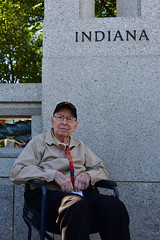 Dozier, Ethan 20 White (indyhonorflight) Tags: ihf indyhonorflight angela napili public ethan dozier 20 white
