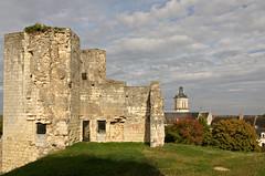 Beaufort-en-Valle (Maine-et-Loire). (sybarite48) Tags: france beaufortenvalle maineetloire chteaufort schloss castle   castillo  castello  kasteel zamek castelo  birkale tour tower turm   torre   toren wiea  kule