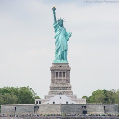 Statue (BrianGoPhoto) Tags: newyork newyorkcity statueofliberty america freedom green liberty libertyisland nyc torch
