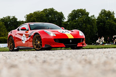 TDF (TheCarspots Photography) Tags: ferrari f12 tdf f12tdf chantilly chateaudechantilly concourschantillyartselegancerichardmille supercars super cars 70d canoneos70d thecarspots red