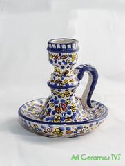 Candelabro (Art Ceramics TVS) Tags: candelabro chandelier candlabre armleuchter ceramic ceramica keramik pottery