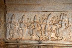 Brahma Vishnu Mahesh from right to left (VinayakH) Tags: bhoganandeeshwaratemple karnataka india temple nandihills chikkaballapura chola ganga hoysala tipusultan religious historic