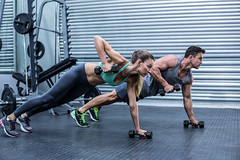 Muscular couple doing plank exercise while lifting weights (tension_magazine) Tags: adult athlete athletic attractive attractivecouple being body bodycare bodyshape care caucasian centre club day definition determined exercise exercising female femalebody fit fitcouple fitness fitnesscenter fitnesscouple fitnesstrainer focused friend gym health healthandfitness healthy healthybody healthycouple indoors instructor leisure lifestyle lifting liftingweights male man mid muscle muscular out physical physique room ropadeportiva shape sportswear sporty strong strongman strongwoman studio together toned trainer training weight weightlifting weighttraining well wellness woman working workingtogether workout