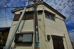 20160930_DP0Q5742 (NAMARA EXPRESS) Tags: street house pole wall sky fine outdoor color foveonclassicblue toyonaka osaka japan foveon sigma dp0 quattro wide ultrawide superwide namaraexp