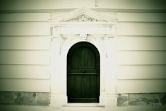 (Vedran Doleni Photography) Tags: door white enigmatic misterious building sacral photography