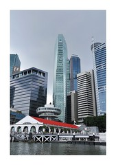 Tall Towers (red stilletto) Tags: singapore cliffordpier cliffordpierrestaurant ouetower marinabay marinabaysingapore waterfront
