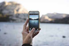 (kendall.plant) Tags: yosemite california travel adventure mountains nature light vsco fade lightroom outdoors iphone technology 55mm