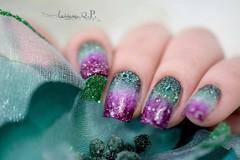Gradient Nails (Walquiria R.P.) Tags: gradientenail naildesigner ombrenails nails unhasdecoradas mani