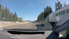 driving through Portland, Oregon (Claudia Knkel) Tags: oregon portland freeway gopro hero3silveredition suctioncupmount northbound interstate5 driving portlandaerialtram