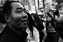 Wondering (stevenp74) Tags: market monochrome beijing muslim china black white streetphotography walking sony a7 28mmf2 28mm
