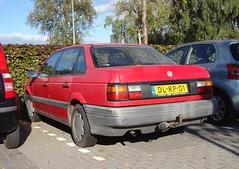 VW Passat B3 1.8 CL 2-1-1992  DL-RP-01 (Fuego 81) Tags: volkswagen vw passat b3 1992 dlrp01 onk sidecode5