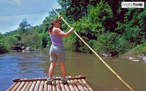 53 Balsa de Bambu en rio Mae Te Man - Chiang Mai