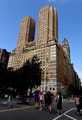 NYC - Central Park West (ikimuled) Tags: nyc newyork newyorkcity manhattan centralparkwest
