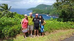 Touring Tutuila with Tom and Tee