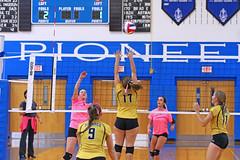 IMG_10382 (SJH Foto) Tags: girls volleyball high school lampeterstrasburg lampeter strasburg solanco team tween teen east teenager varsity net battle spike block action shot jump midair
