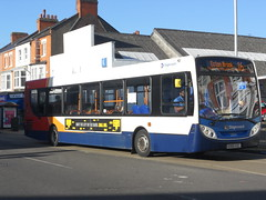 Stagecoach 27684 KX60 AZL (Alex Swanston's Bus Photos) Tags: outdoor northampton bus vehicle road stagecoach stagecoachinnorthampton stagecoachmidlandred dennisenviro300 e300 enviro300 route16 27684 kx60azl