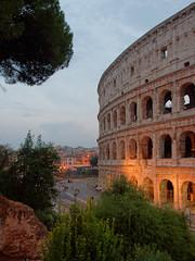 Twilight Colosseum (Michal Hajek) Tags: d5500 18140mm rome ruin nikkor czphoto colosseum amphitheater saariysqualitypictures