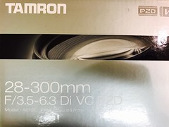 New lens :) (pandeesh89) Tags: tamran canon ef mount 28300 from taiwan ebay purcahse multipurpose lens tamron brand