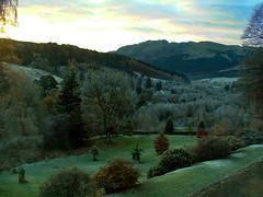 Good Morning World (Alan FEO2) Tags: strathayre lochvoil trossachsnationalpark scotland hills valleys glens balquhidderglen balquhidder trees bushes outdoors fujifilm finepix 2600