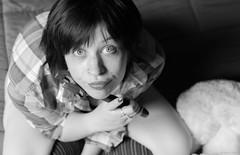 Nath (BenoitGEETS-Photography) Tags: nath shooting nathalie bn bw noiretblanc nb regard cléàmolette spanner nikon d610 2470 f28 vuedenhaut tamron geets benoitgeets misterblue blackwhite portrait