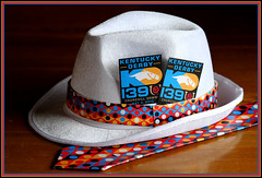 Derby Day (djFargo) Tags: hat tie necktie kentuckyderby derbyhat 2013
