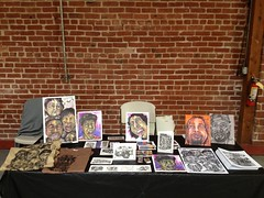 Oakland Art Murmur my table (storm1sky) Tags: art firstfridays oaklandartmurmur stormone