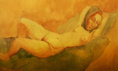 "Majas, homenajes de Francisco de Goya y Lucientes (1802), Eugéne Delacroix (1826), Amadeo Modigliani (1916), Pablo Picasso (1906), (1931), (1959), (1964). • <a style=""font-size:0.8em;"" href=""http://www.flickr.com/photos/30735181@N00/8746855263/"" target=""_blank"">View on Flickr</a>"