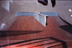tre flip (Sly Panda) Tags: 35mm panda mju skateboarding board flip ii skate tre twon swy whelly