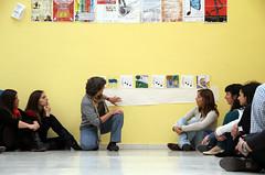 VIVIR LA MÚSICA, VIVIR CON LA MÚSICA - CURSO DE PEDAGOGÍA CON TERESA MALAGARRIGA - ESCUELA DE VALVERDE DE LA VIRGEN - 25.05.13 (juanluisgx) Tags: music spain leon musica pedagogy pedagogia lavirgendelcamino juventudesmusicales escuelademusica valverdedelavirgen jeunessesmusicales