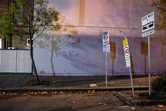 Greetings (Ranga 1) Tags: longexposure nightphotography urban signs tree night canon lowlight shadows nocturnal fitzroy australian australia melbourne victoria explore suburbs australianlandscape trafficsigns urbanlandscape nightexposure davidyoung ef1740mmf4lusm innersuburbs innermelbourne canoneos5dmarkii