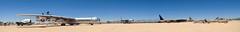 Pima Air & Space pano (Karol Franks) Tags: convair b36 peacemaker pima air space museum tucson military aircraft jet strategic bomber unitedstatesairforce az arizona usa southwest america desert karolfranksgmailcom copyright ©2013 karolfranks ©2014 ©karolfranks okarolyahoocom