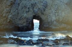Pfeiffer beach (teacup_dreams) Tags: california film beach 35mm big sur pfeiffer