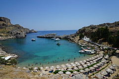 Saint Paul Bay (Martok) Tags: rhodes rodos rodi greece grecia prasonisi saint paul bay baia san paolo lindos hellas
