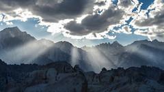 42-34170604 (prveugen) Tags: alabamahills california clouds evening inyocounty landforms landscape light mountwhitney mountain naturalworld nobody northamerica owensvalley pacificstates scenic sierranevada sunbeam sunset sunshine travel usa peak