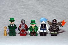 DC Figbarf #6 (Evgenion) Tags: lego super heroes superheroes dc comics books detective riddler batman arkham asylum deadshot mad hatter killer frost firefly brick warriors brickwarriors the assault