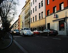 Herbie is back? (Ioannis the graecum) Tags: kodak portra 160 zenza bronica etrsi 75mm f28 pe kln rheinland herbie beetle vw kfer