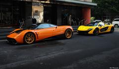 Huayra & P1 (Rato Reven) Tags: pagani p1 huayra hypercar supercar sportcar speedcar topcar top taiwan