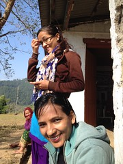 The Girls from the Health Post in Nepal (stewickie) Tags: nepal childbirth culture mother birthing birthingcenter healthcenter nepali baby pregnancy birth