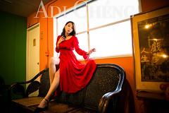 Adi_0050 (Adi Chng) Tags: adichng girl      redgreen