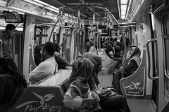 Daily commuters (sydbad) Tags: bukit bintang monorail streetphotography daily commuters ilce6000 sel35f28z