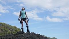 Shooting Lara Croft - Calanque du Mont Salva - Six Fours les Plages - 2016-08-11- P1500466 (styeb) Tags: shoot shooting lara croft 2016 aout 11 calanque mont salva sixfourslesplages t