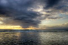 New Smyrna Beach Dawn (09/05/2016) (TaranRampersad) Tags: newsmyrnabeach florida dawn morning beach outside outdoors seaside oceanside sunrise sunset sun reflection waves texture