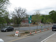 12 Greenway worksite, from Rt27 intersection2 (chelmsfordpubliclibrary) Tags: cpl chelmsford chelmsfordpubliclibrary chelmsfordlibrary greenway